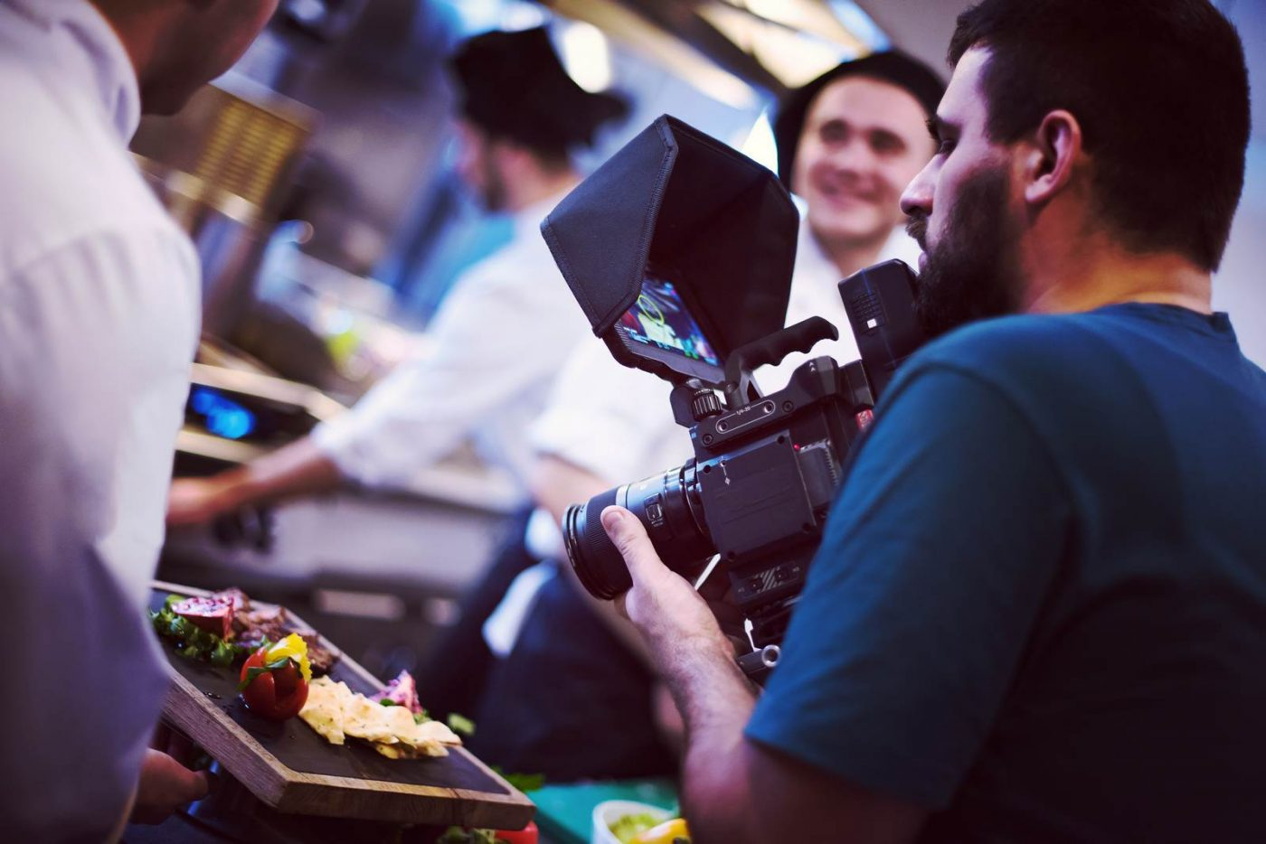 commercial videography team shoots video in Orlando